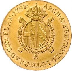 Moneta > ½suwerena, 1791-1792 - Niderlandy Austriackie  - reverse