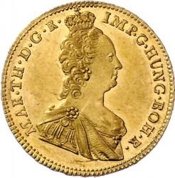 Moneda > 1sovereign, 1756-1761 - Països Baixos Austríacs  - obverse