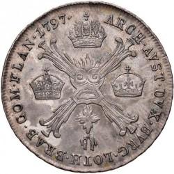 Moneta > ¼kronenthaler, 1792-1797 - Niderlandy Austriackie  - reverse