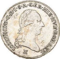 Монета > ¼кроненталер, 1788-1790 - Австрийска Нидерландия  - obverse