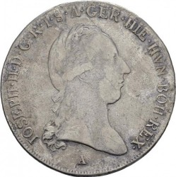 Moneta > ½kronenthalera, 1786-1790 - Niderlandy Austriackie  - obverse