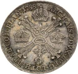 Moneta > ¼kronenthaler, 1788-1790 - Niderlandy Austriackie  - reverse