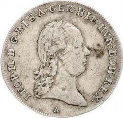 Moneta > ¼kronenthaler, 1790-1792 - Niderlandy Austriackie  - obverse