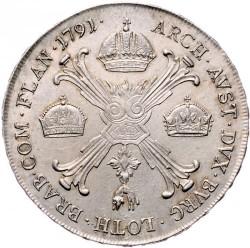 Moneta > 1kronenthaler, 1790-1792 - Niderlandy Austriackie  - reverse