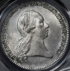 Монета > 1кроненталер, 1792-1798 - Австрийска Нидерландия  - obverse