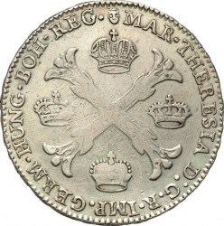 Moneta > 1kronenthaler, 1755-1779 - Niderlandy Austriackie  - reverse