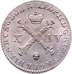 Moneda > 14liards, 1790-1792 - Països Baixos Austríacs  - obverse