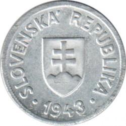 Minca > 50halierov, 1943-1944 - Slovensko  - obverse