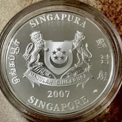 Moneta > 1dollaro, 2007 - Singapore  (Punggol Point e Coney Island) - obverse