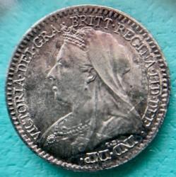 Moneta > 1pens, 1898 - Wielka Brytania  (Srebro /szary kolor/) - obverse