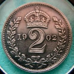 Monēta > 2pensi, 1902 - Lielbritānija  - reverse