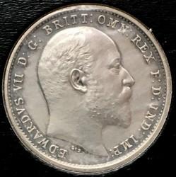 Кованица > 4пенија, 1902 - Уједињено Краљевство  - obverse