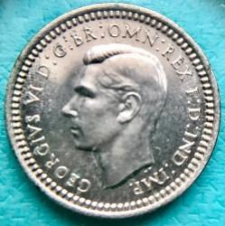 Coin > 1penny, 1937 - United Kingdom  (Silver /gray color/) - obverse