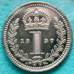 Coin > 1penny, 1937 - United Kingdom  (Silver /gray color/) - reverse