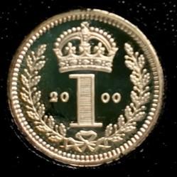 Монета > 1пенні, 2000 - Велика Британія  (Королева Єлизавета II) - reverse