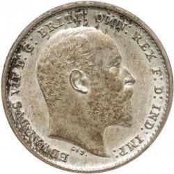 Кованица > 2пенија, 1902 - Уједињено Краљевство  - obverse