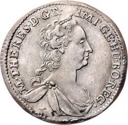 Moneta > 3kreuzer, 1746-1749 - Austria  - obverse