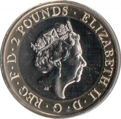 Moneta > 2funty, 2019 - Wielka Brytania  (75 rocznica D-Day) - obverse
