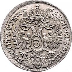 Moneta > 3kreuzer, 1765-1780 - Austria  - reverse