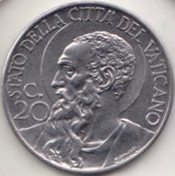 Moneta > 20centesimi, 1940-1941 - Watykan  - reverse