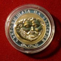 Moneta > 10lewów, 2005 - Bułgaria  (Skarby Bułgarii - Trakowie, złota maska) - reverse