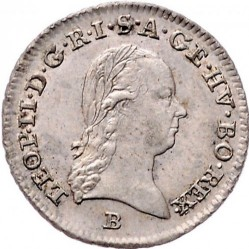 Moneta > 3kreuzer, 1790-1792 - Austria  - obverse