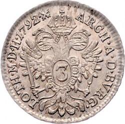 Moneta > 3kreuzer, 1790-1792 - Austria  - reverse