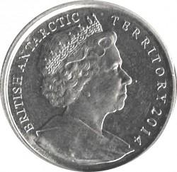 Монета > 2фунта, 2014 - Британська антарктична територія  (Killer Whale) - obverse