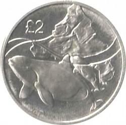 Монета > 2фунта, 2014 - Британська антарктична територія  (Killer Whale) - reverse