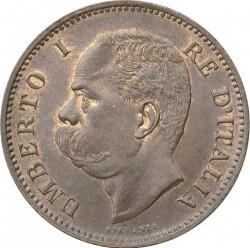 Moneta > 5čentezimai, 1895-1896 - Italija  - obverse
