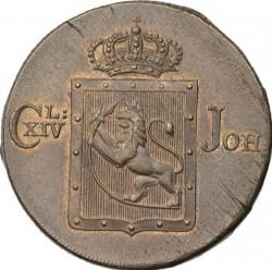 Moneta > 1skilling, 1819-1834 - Norwegia  - obverse