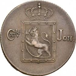 Монета > 2скиллинга, 1822-1834 - Норвегия  - obverse