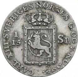 Moneda > 8skilling, 1817 - Noruega  - obverse