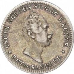 Moneda > 12skilling, 1845-1856 - Noruega  - obverse