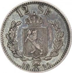 Moneda > 12skilling, 1845-1856 - Noruega  - reverse