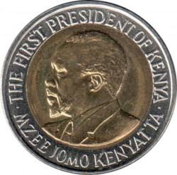 Moneda > 20chelines, 2010 - Kenia  - obverse