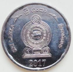 Moneda > 2rupias, 2017 - Sri Lanka  - reverse