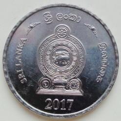 Moneta > 5rupii, 2017 - Sri Lanka  - reverse