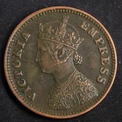 العملة > ½بيس, 1885-1901 - الهند - البريطانية  - obverse