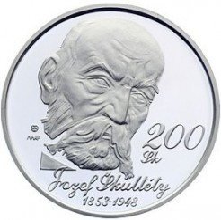 Minca > 200korún, 2003 - Slovensko  (150th Anniversary - Birth of Jozef Škultéty) - obverse