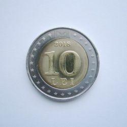 Moneta > 10lei, 2018 - Mołdawia  (25 rocznica - Waluta narodowa) - reverse