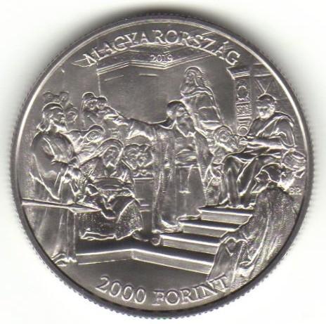 Hungary 2000 Forint 2019 BU Mihály Munkácsy