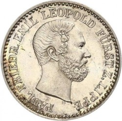 Moneda > 2½silbergroschen, 1860 - Lippe  - obverse