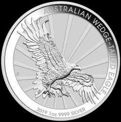 Moneda > 1dólar, 2019 - Australia  (Àguila  Australiana) - reverse