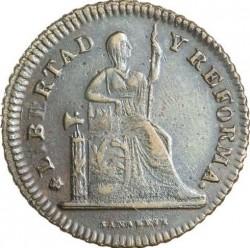 Νόμισμα > 1Σεντάβο, 1863 - Μεξικό  - obverse