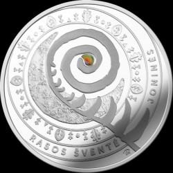 Монета > 5евро, 2018 - Литва  (Traditional Lithuanian Celebrations - Joninės (Rasos)) - obverse