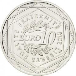Moneda > 10euros, 2010 - Francia  (Regiones francesas - Limousin) - reverse