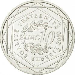 Moneda > 10euros, 2010 - Francia  (Regiones francesas - Lorena) - reverse