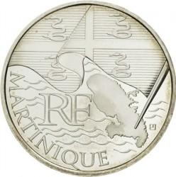 Moneda > 10euros, 2010 - Francia  (Regiones franceses - Martinica) - obverse