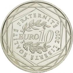 Moneda > 10euros, 2010 - Francia  (Regiones franceses - Martinica) - reverse